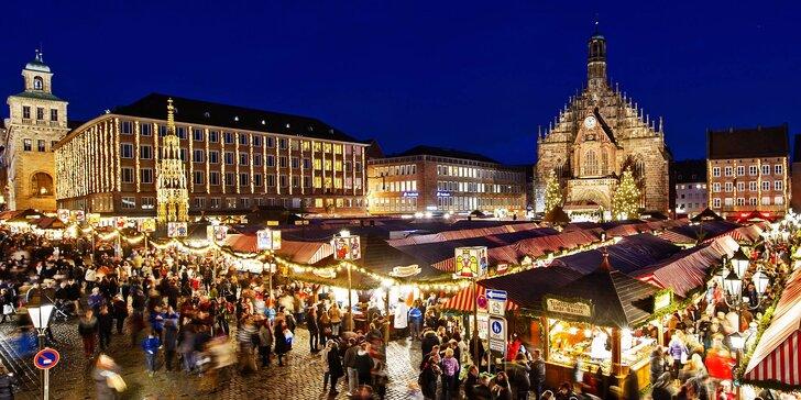 Zažijte neopakovatelnou atmosféru na vánočních trzích v Norimberku
