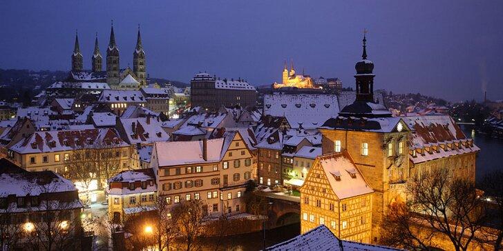 Navštivte okouzlující tradiční vánoční trhy v Bambergu a Norimberku s průvodcem