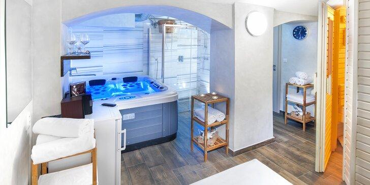Chce to relax: Pronájem privátní sauny nebo vířivky ve wellness centru U Gigantu