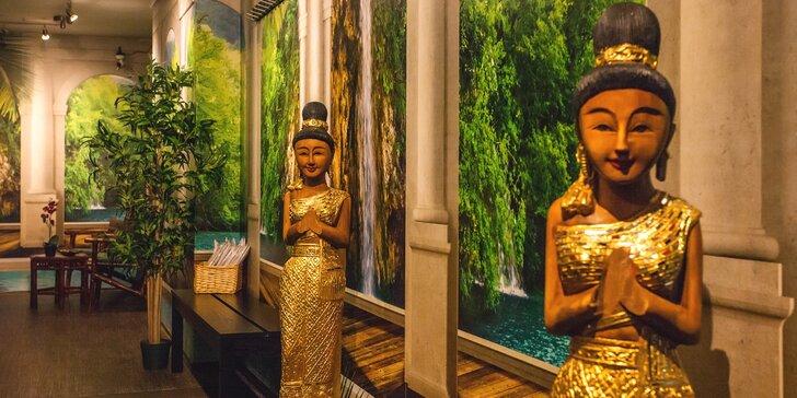 Balíček plný luxusního hýčkání a rozmazlování v Thai Sunu