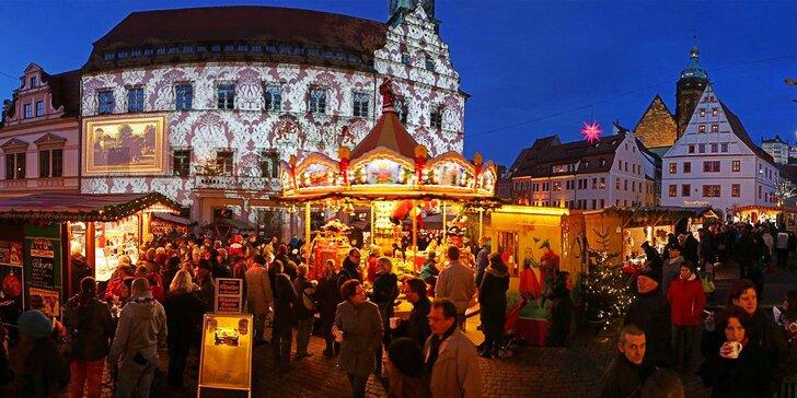 Zažijte pohádkový advent: Plavba na trhy v Königsteinu a zastávka v malebné Pirně