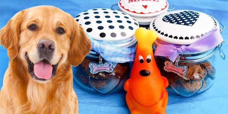 Pamlsky pro vaše psí kamarády: 150 nebo 300 g dobrot bez umělých přísad
