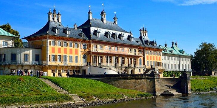 Výlet do malebného saského města Pirna, na pevnost Königstein a zámek Pillnitz