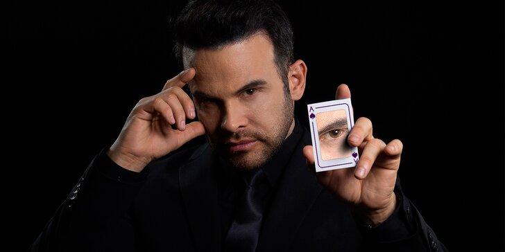 Nechte se okouzlit: interaktivní magická show Prague Illusion s drinkem nebo bez