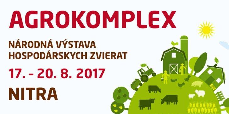 Výstava agrokomplex v Nitře: vše o zemědělství pro odborníky i rodiny s dětmi