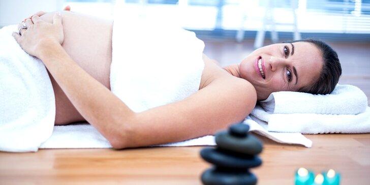 Oddejte se odpočinku: hodinová masáž dle výběru včetně těhotenské