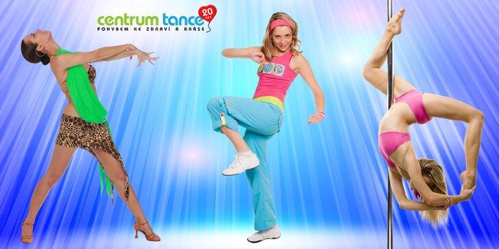 Pohyb dělá sexy těla: přenosná permanentka na 7 lekcí tance či cvičení