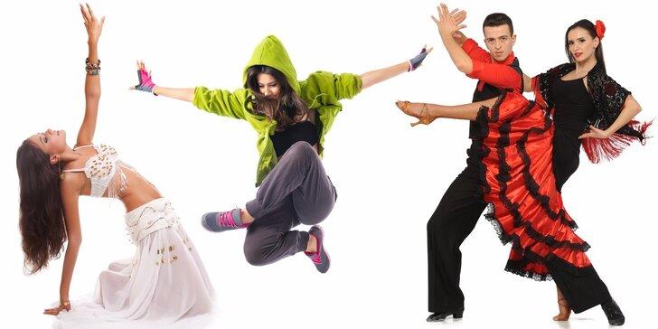 Protančete se ke krásné figuře – 7 libovolných lekcí tance a cvičení