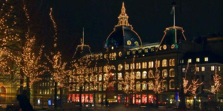 Výlet do nazdobené vánoční Kodaně s odjezdem z Prahy a za příplatek z Moravy