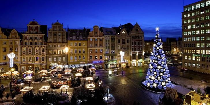 Výlet do předvánoční Wroclavi s odjezdy ze Zlína, Fryštáku, Holešova či Ostravy