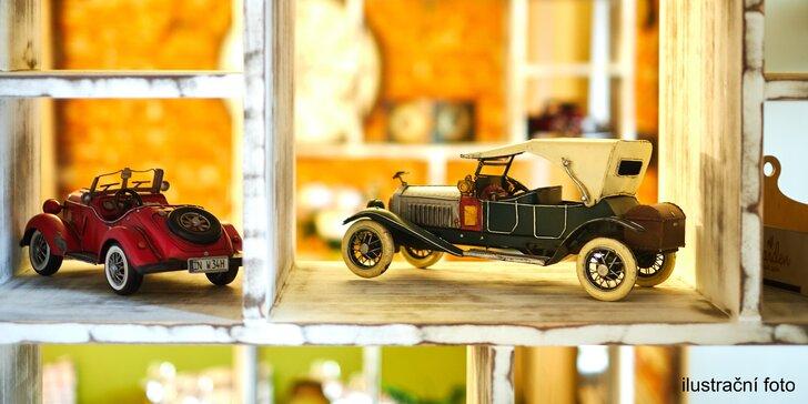 Vstup do Rodinného muzea hraček: panenky, autíčka i starožitné poklady