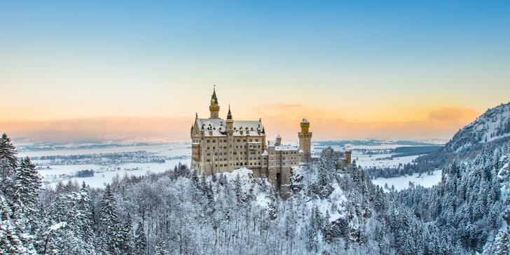 Objevte kouzlo malebného adventu ve Füssenu a na zámku Neuschwanstein