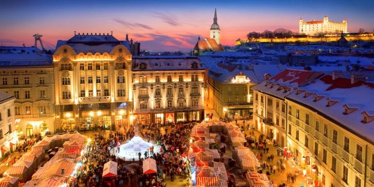 Poznejte adventní atmosféru v Bratislavě, Vídni a Györu včetně dopravy a ubytování