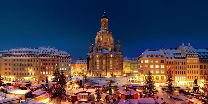 Nejstarší vánoční trhy: adventní Drážďany z Brna, Velkého Meziříčí a Jihlavy