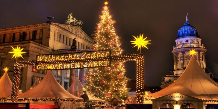 Jednodenní výlet do vánočně laděného Berlína: památky i trhy s průvodcem