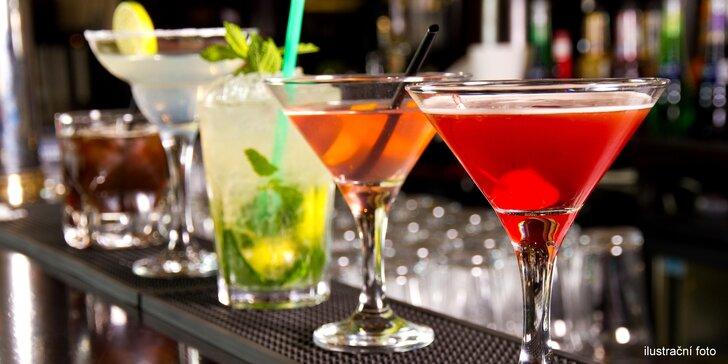 Každý den je důvod k oslavě: 2 míchané drinky podle vašeho gusta
