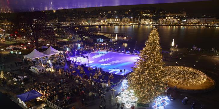 Luzern a návštěva nejvýše položených adventních trhů v Evropě na hoře Pilatus