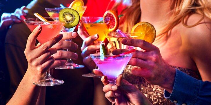 Plné sklenky zábavy: až 10 drinků dle výběru v restauraci na Stodolní ulici