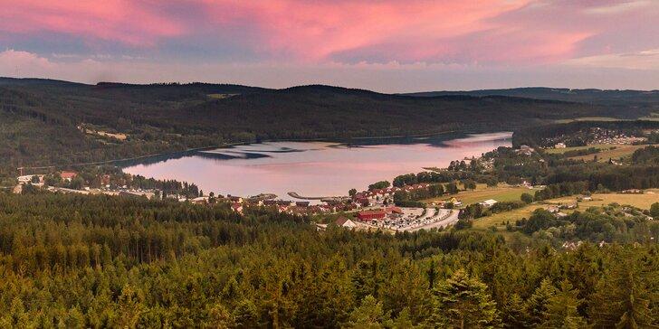 3 dny aktivního odpočinku nedaleko Lipna: polopenze, sauna a slevy na zážitky