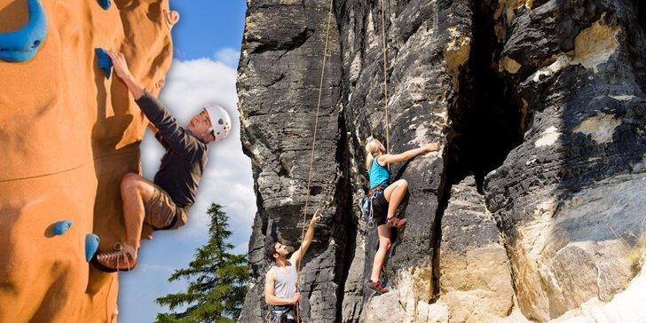 Nedržte se při zemi – lezecký kurz na vnitřní nebo venkovní stěně