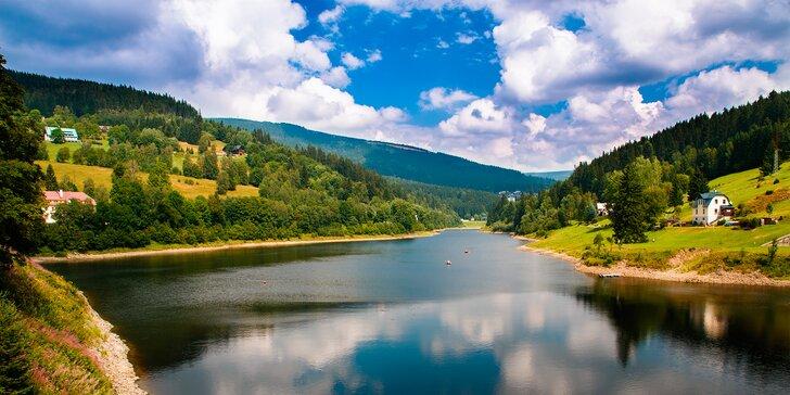 Horská turistika i podzimní relax v centru Špindlerova Mlýna s polopenzí