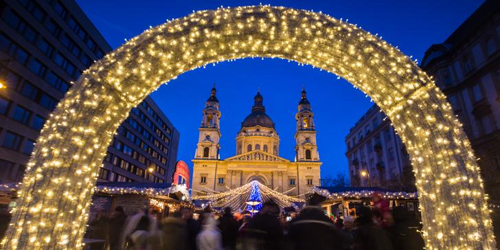 Vychutnejte si magickou atmosféru adventní Budapešti: Dunaj, guláš, tokajské víno