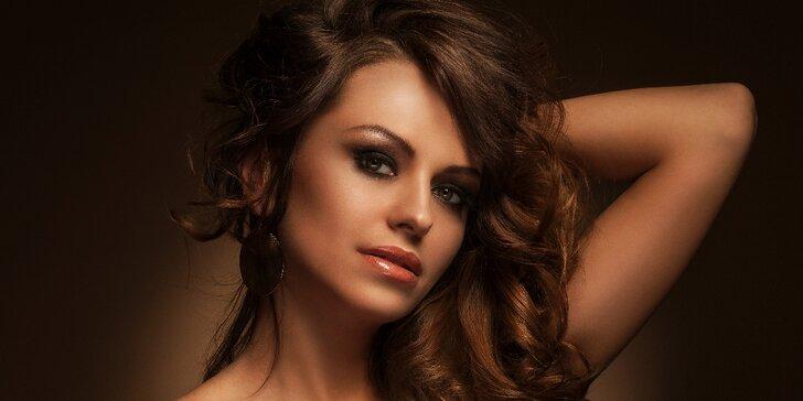 3D střih pro všechny délky vlasů i s možností melíru či barvy