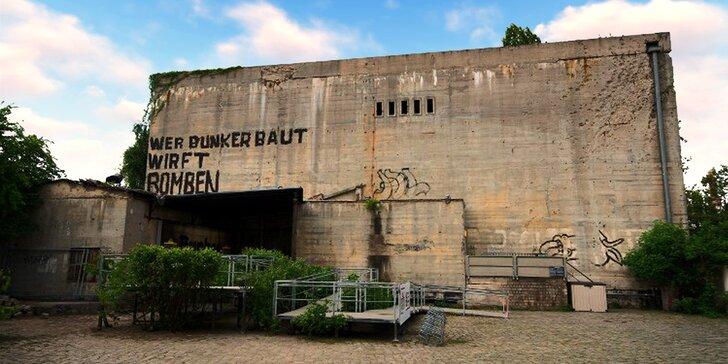 Bunkr, kde Hitler spáchal v roce 1945 sebevraždu a prohlídka Berlína s průvodcem