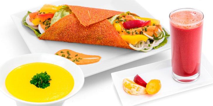 Projezte se ke zdraví: svěží 4chodové menu z bistra bistRAWveg
