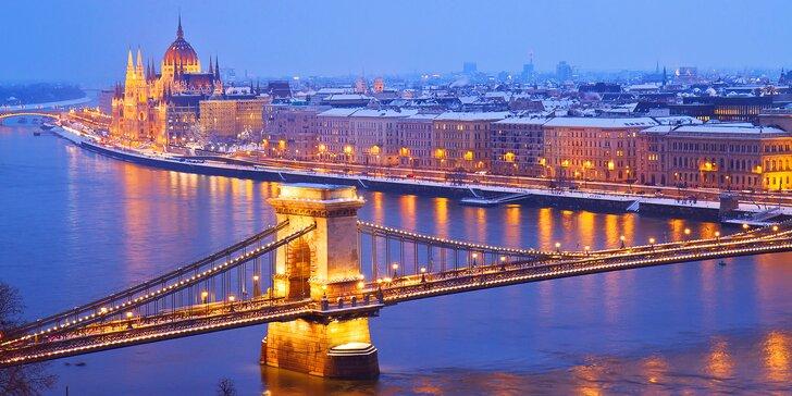 Magický advent v Budapešti: 3 noci ve vybraném hotelu, trhy i návštěva lázní