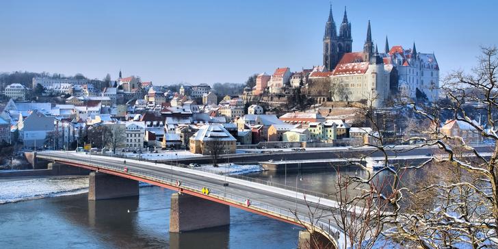 Zavítejte do vánočně vyzdobených Drážďan a navštivte vánoční trhy v Míšni
