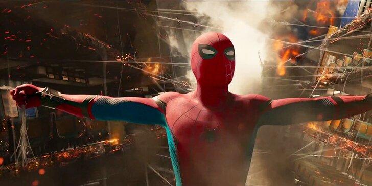 Do Lucerny na super trhák: 2 vstupenky na film Spider-Man: Homecoming