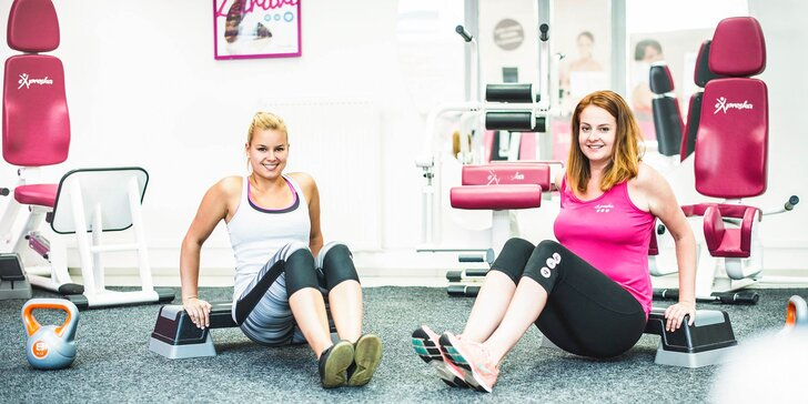 Měsíc neomezeného cvičení v dámském fitku: kruháč a zápisné do všech poboček