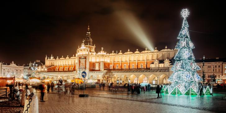 Poznejte adventní Krakov a solné doly Wieliczka: trhy i památky s průvodcem