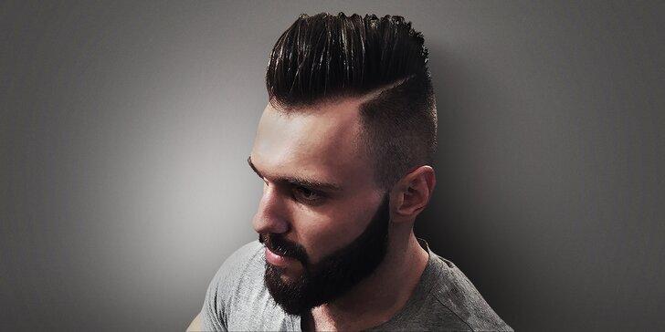 Precizní pánský střih s možností úpravy vousů od profesionálních stylistů