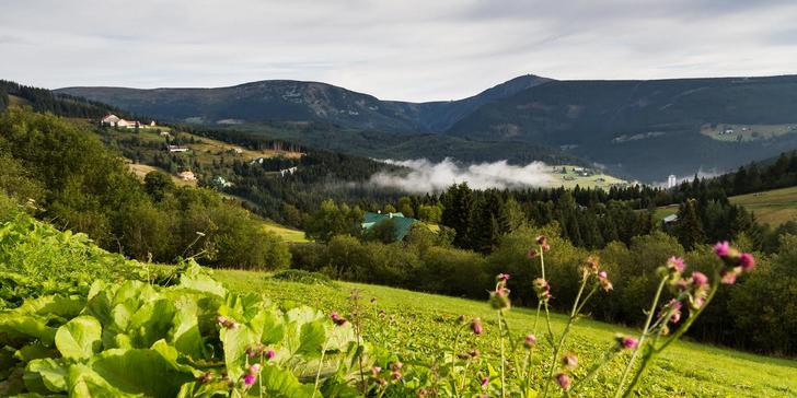 Podzimní dovolená v Krkonoších včetně polopenze a wellness aktivit