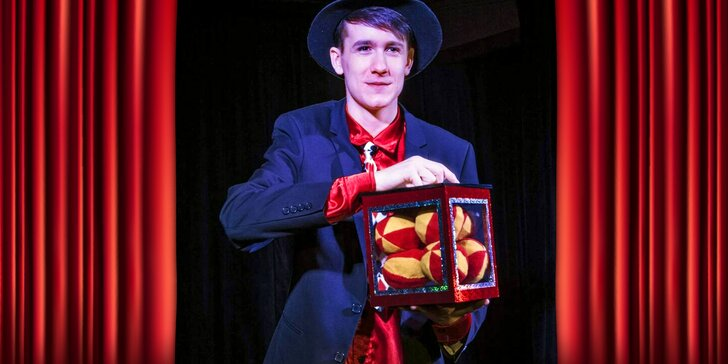 To je magie: Hodinové kouzelnické představení, které nadchne celou rodinu