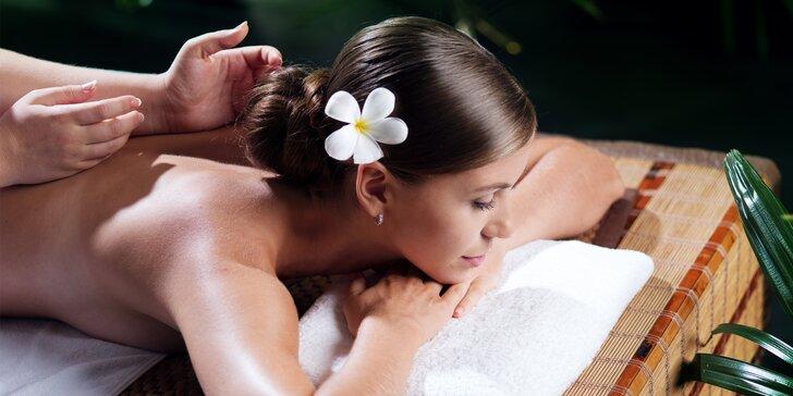 Vyberte si masáž a nechte se hýčkat – 60 minut odpočinku v Royal Jasmine Spa