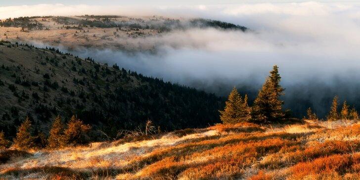 Báječná dovolená v čisté přírodě Jeseníků s chutnou polopenzí pro dva