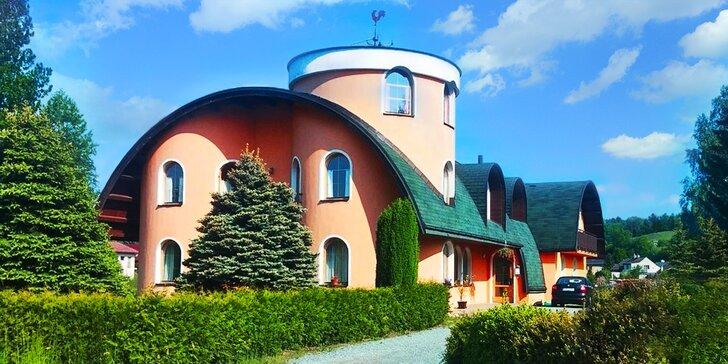 Jde se do přírody: Pobyt nedaleko Adršpachu s polopenzí a oddychem v sauně