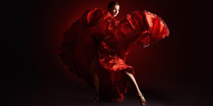 Taneční kurzy pro ženy: latina, flamenko, orient nebo tanec s profesionálem