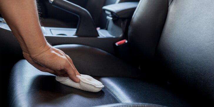 Tepování sedaček, kufru a dveří vč. dezinfekce pro krásně čisté auto