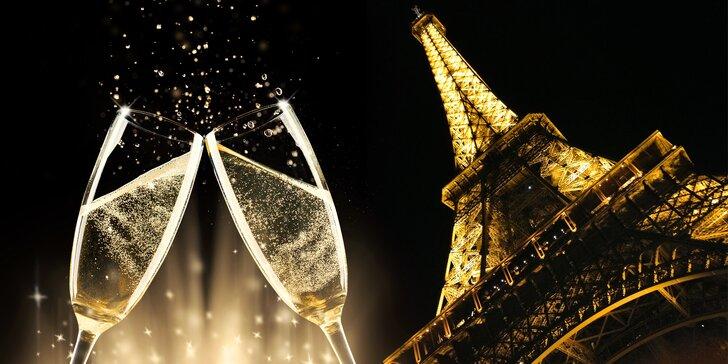 Silvestr v Paříži a ve Versailles: doprava autokarem a 2 noci v hotelu