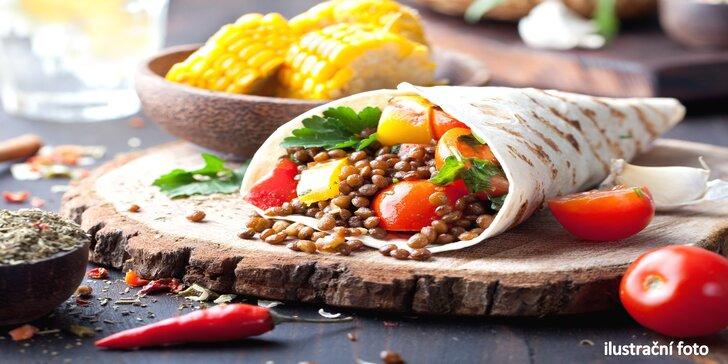 Zdravě a chutně: vegetariánský oběd doručený přímo k vám