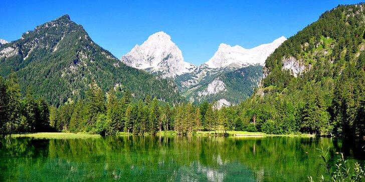 Rakouské Alpy s ubytováním na 4 noci: turistika v horách s jezery a vodopády