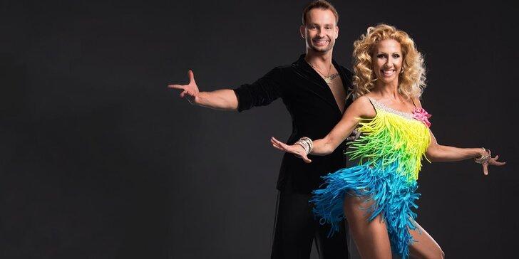 Kurz společenských tanců nebo argentinského tanga s hvězdami StarDance