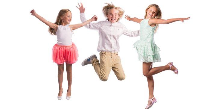 Taneční kurzy pro děti: balet, street dance či standard – i s Markem Dědíkem
