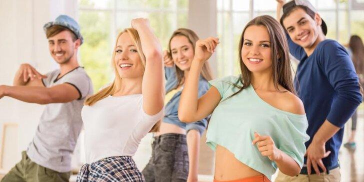 Taneční kurzy pro děti od 11 do 15 let: street dance nebo společenské tance