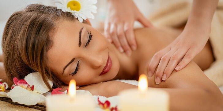 Klasická částečná nebo relaxační masáž v délce 60 minut