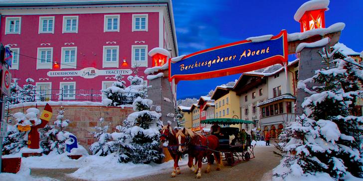 Kouzlo vánočních trhů v oblasti Berchtesgadenska a Salcburské Vánoční muzeum